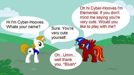Cyber-Hooves x Elemental 1 by Cyber-Hooves