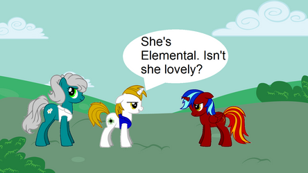 Cyber-Hooves x Elemental 4 by Cyber-Hooves