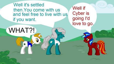 Cyber-Hooves x Elemental 7 by Cyber-Hooves