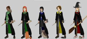 Hogwarts student maker by Hapuriainen on DeviantArt