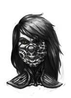 Cyborg Lilly by roboGeorge
