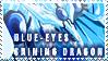 Blue-Eyes Shining Stamp by TheLastHetaira