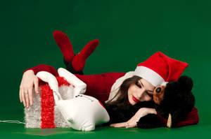 Christmas Gift by LetzteSchatten-stock