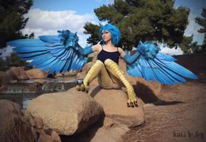 :: Papi the Harpy :: by LunaLeFey