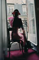 Aerith Gainsborough - In Nibelheim Inn by Sora-Phantomhive