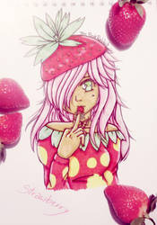 Strawberry by ThePinkRabbits