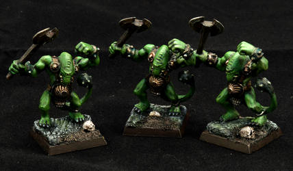 Hero Quest Fimirs by Minisnatcher