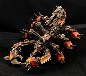 Greater Brass Scorpion of Khorne (Conversion) by Minisnatcher