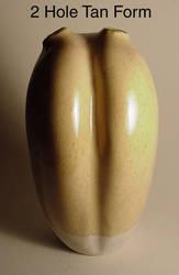 2 Hole Tan Form by sbleecker