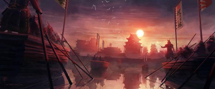 Samurai 3/3 by iancjw