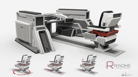 Radke Industires: Lab 1 - Workstation by iancjw