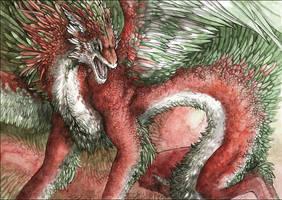 Quetzalcoatl by MinnaSundberg