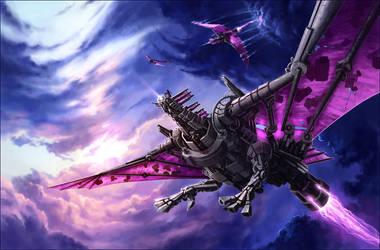 The Iron Hawk by MinnaSundberg