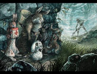 The Carrot squad by MinnaSundberg