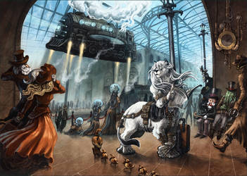 Lionel the Liontaur by MinnaSundberg