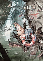 Shipcatville by MinnaSundberg