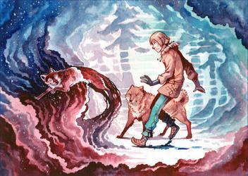 Follow the fox by MinnaSundberg