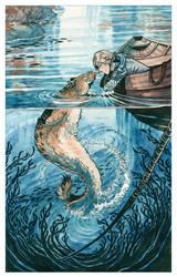 Seal Kiss by MinnaSundberg