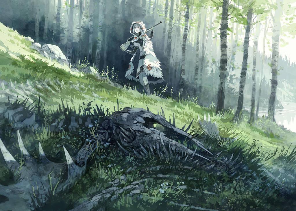 Bones of Blight by MinnaSundberg