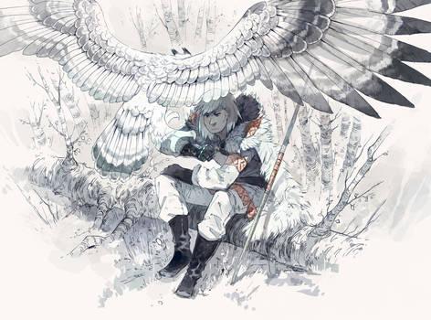 Owl Mage by MinnaSundberg