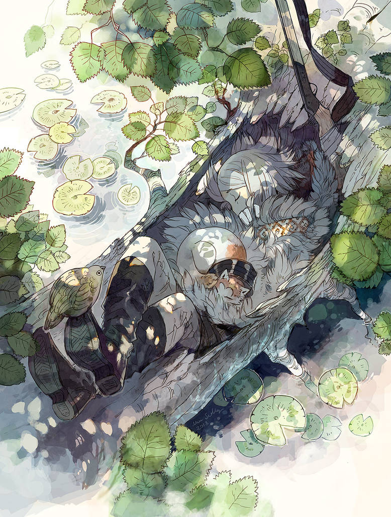 Cat Nap by MinnaSundberg