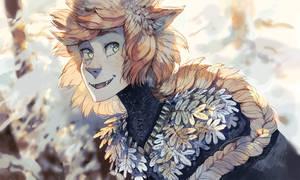 Foxboy Reynir by MinnaSundberg