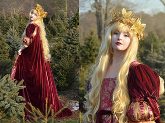 Christmas Costume II by AngelaClaytonCosplay