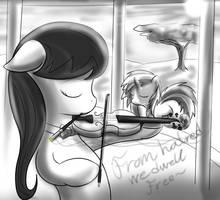 Octavia Violin Scratch by Thorheim