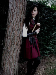 Lirael in the garden by LauraTolton