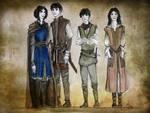 Abhorsen family by LauraTolton