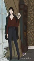 Irene Adler by LauraTolton
