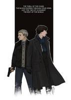 Sherlock and John by LauraTolton