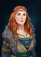 Queen Valfina by LauraTolton