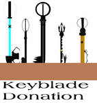 Keyblade Donation 2 by Light-He-arth