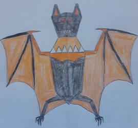 Chaos Bat Zord by Light-He-arth