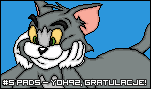 Tom and Jerry by AnrevoSprites