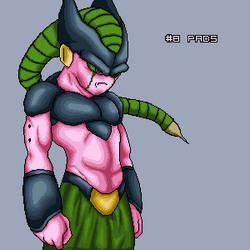 Buu+Cell by AnrevoSprites
