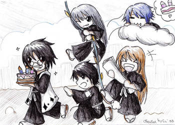 Gotei13: OS-team gift art by Cairy
