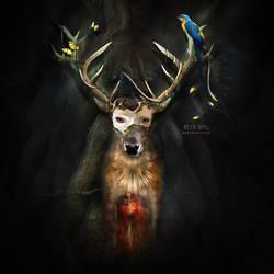 Deer king by gbindis