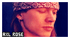 Axl Rose stamp by iheartjrock