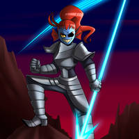 Undyne The Spear Of Justice! by ImSkull