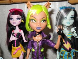 Monster High Dolls by BenTigre