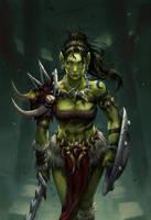 The Warrior by MisMist