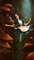 Alice - Falling Through Wonderland by ZuZuMoo