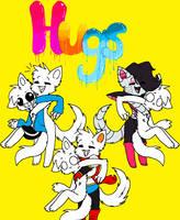 Hugs 4 Every1 Cat Undertale X Oc Collab by SnowySeal
