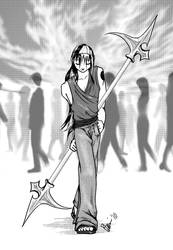 Uriel, Armed by Bethany-sensei