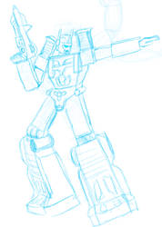 Sketch Request - Ultra Magnus by artoni