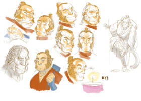 random Zhao faces by njay