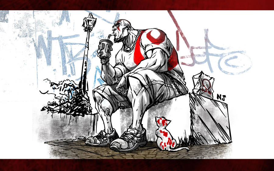 God of War by njay