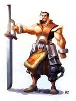 Fantasy Zero Warrior by njay